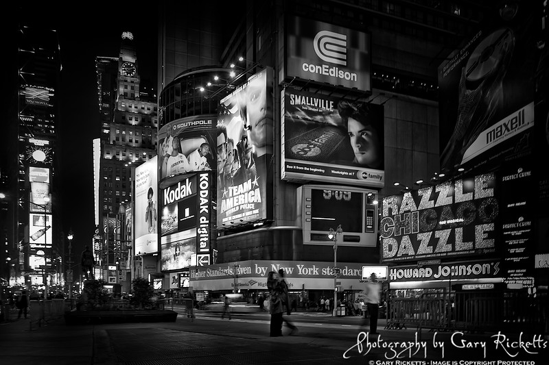 Sunday Night In Times Square
