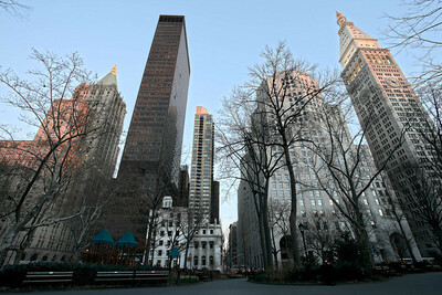 Madison Square Park looking east