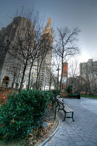 Madison Square Park looking south