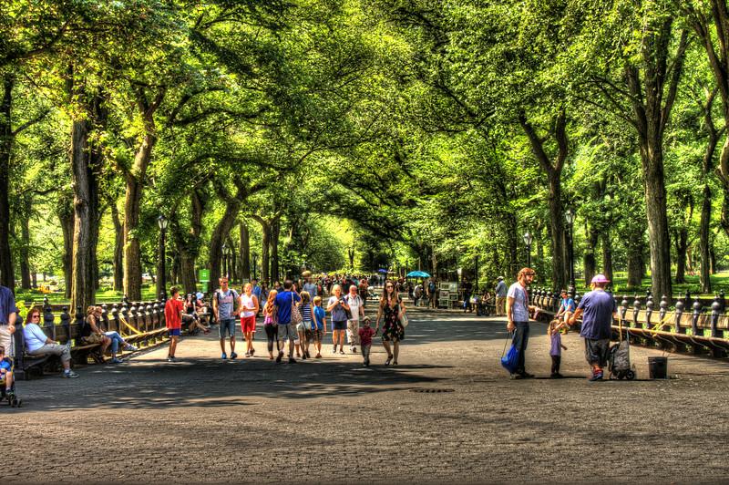 central park promenade