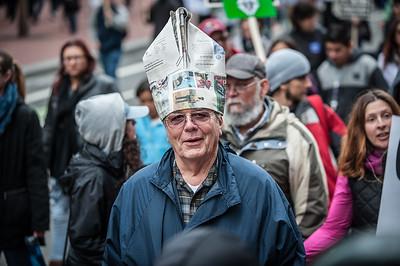 Manifestants in San Francisco Bay Area