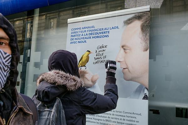 Manifestation contre les violences policières Paris le 28 janvier 2017
