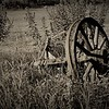 Old Time Wooden Wheel