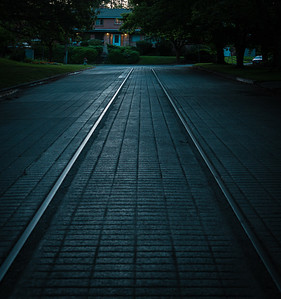 Trolley Tracks to Nowhere