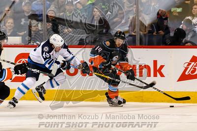 San Diego Gulls vs Manitoba Moose