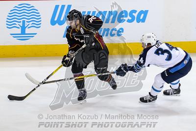 Cleveland Monsters vs Manitoba Moose