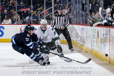 San Jose Barracuda vs Manitoba Moose