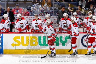 Charlotte Checkers vs Manitoba Moose