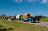 Back to Batoche 2004  red river cart journey and trail ride at Carberry, Manitoba Canada