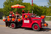 The A&W restaurant parade float in the Carman, Manitoba parade.