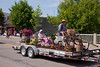 The Vintage Landscaping float in the Carman, Manitoba parade.