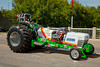 A tractor style dragster in the Carman, Maniotba parade.