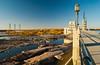 Seven Sisters generating station of Manitoba Hydro, Manitoba, Canada.