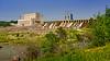 The Manitoba Hydro power generating station at Seven Sisters, Manitoba, Canada.