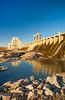 Seven Sisters dam and generating station of Manitoba Hydro, Whiteshell Provincial Park, Manitoba, Canada.