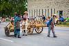 The Icelandic Festival street Parade in Gimli, Manitoba, Canada.