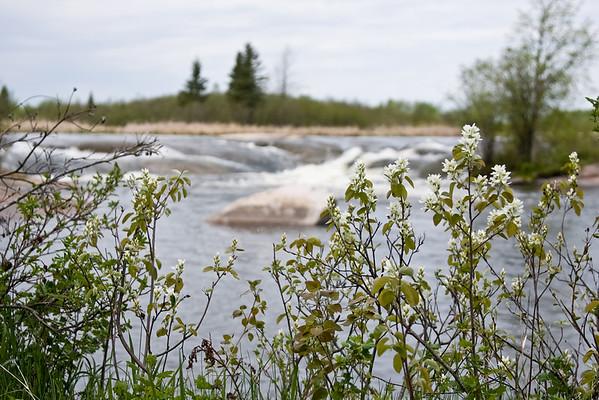 Seven Sisters, Manitoba, Pinawa Dam