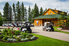 The Club House at the Clear Lake Golf Course, Wasagaming, Manitoba, Canada.