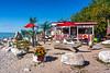 Peter's Snack Bar at Steep Rock, Manitoba, Canada.