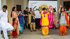 Ethnic dancing at Culture Fest 2016 held in the Bethel Heritage Park, Winkler, Manitoba, Canada.