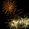 Fireworks display at the Harvest Festival 2014 in Winkler, Manitoba, Canada.