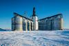 The Paterson inland grain terminal at Morris, Manitoba, Canada.