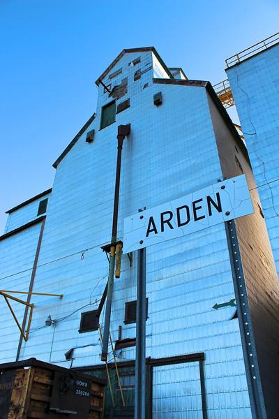 Arden - railway sign