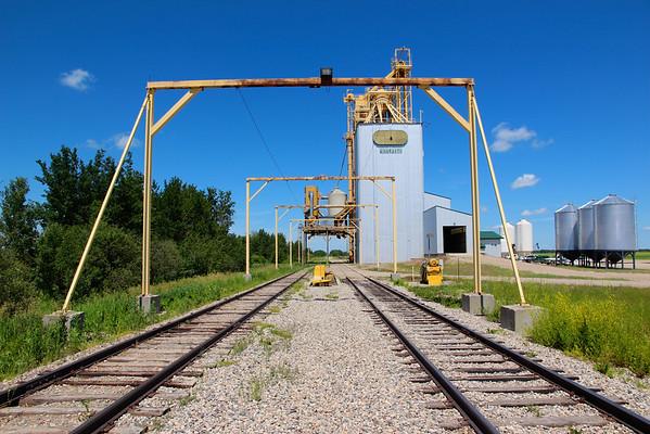 Binscarth - down the tracks