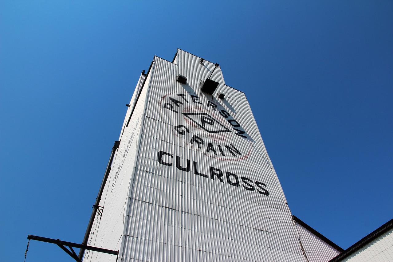 Culross - looking up