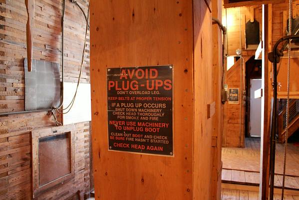 Inglis - avoid plug-ups