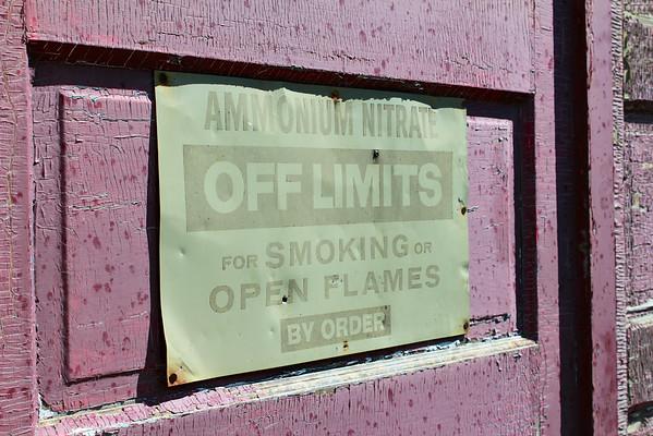 Inglis - off limits