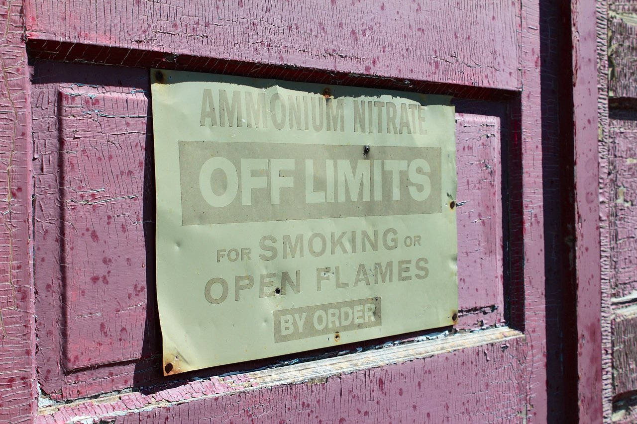 Inglis - off limits