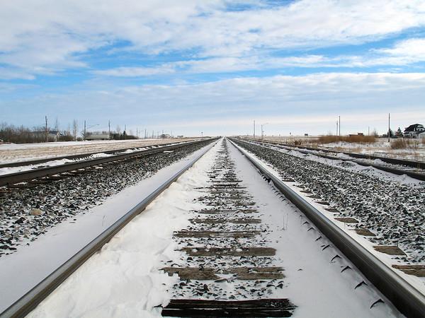 Marquette - down the tracks