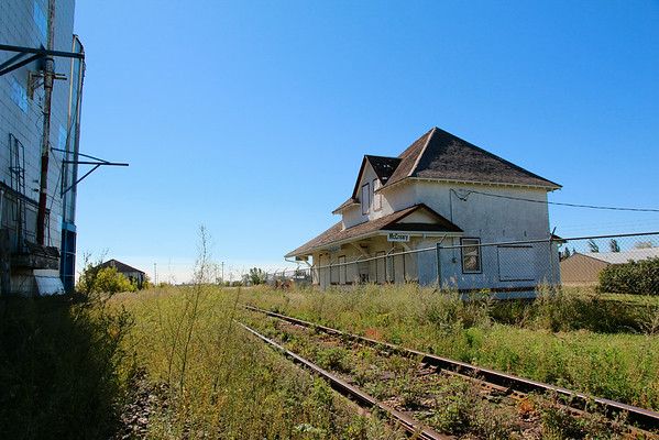 McCreary - old train station