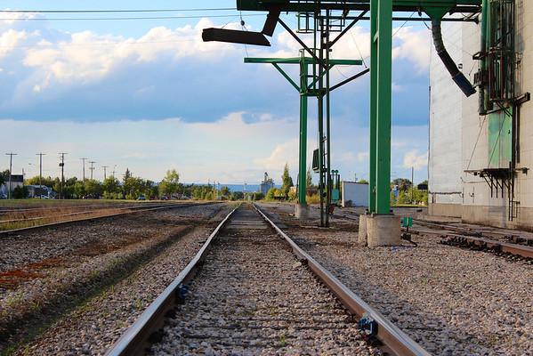Swan River - Cargill B: down the tracks