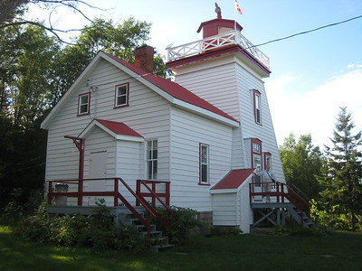 Janet Head Light House near Gore Bay