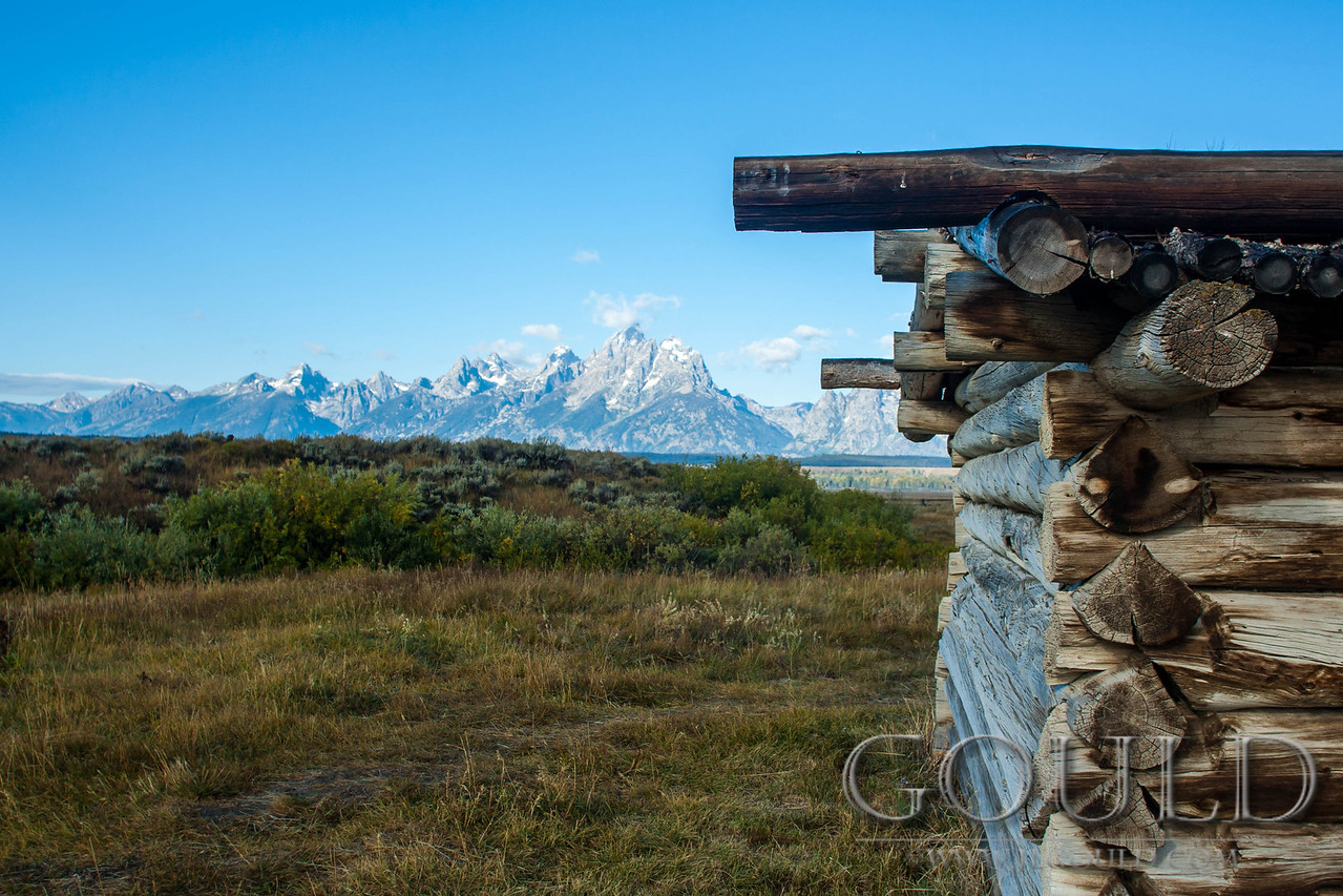 Teton Log Cabin