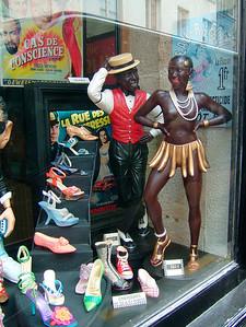 Josephine Baker in Paris, 2003 40 x 50
