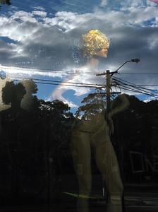 Carnival Blonde, Glebe 2009 40 x 30cm