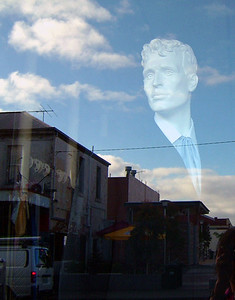 Floating Man, Brunswick 2004 38 x 30cm