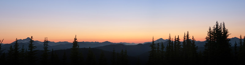 Cascade Dusk. Manning Park, B.C.