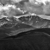 Mount Frosty Under Stormy Skies