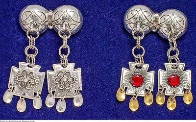 Mannsbunad fra Løken med halsnål i sølv