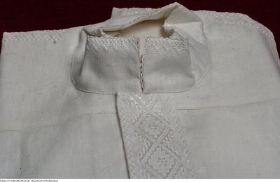 Mannsbunad fra Nordhordaland med mansjettknapper og linskjorte