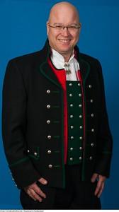 Mannsbunad fra Nordhordaland med trøye av Engelsk klede