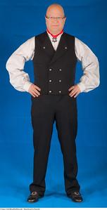 Mannsbunad fra Numedal med brodert linskjorte
