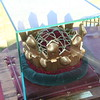 Crown to be awarded to the winner of clam chowder cook-off for judge's choice. Nags Head artist Glenn Eure created the crown.