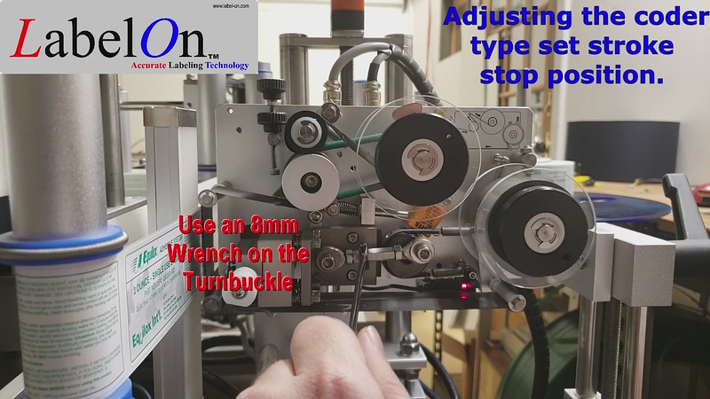 Adjusting the coder end stroke position - - Mini Synergy - Electric Type