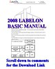 LabelOn 500 Manual Donwload