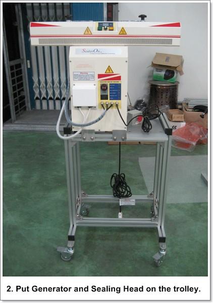 LK400/500 Assembly Step 2